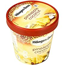 Haagen-Dazs, Pineapple Coconut Ice Cream, Pint (8 Count)
