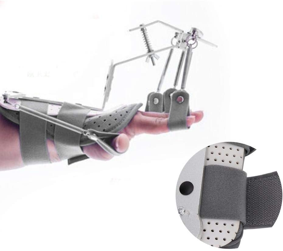 Ortesis dinámica de Dedos, muñeca Ajustable y ortesis dinámica de Dedos Herramienta de capacitación para la reparación de la Mano Utilizada para el Cuidado de Las Manos