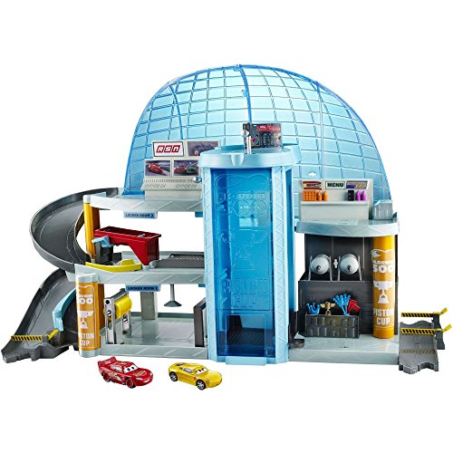 Mattel Disney/Pixar Cars 3 Florida Speedway Mega Garage, PLAYSET Kids Boys Toy McQueen ()