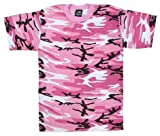 Pink Camouflage T Shirt Tee Adult Teen - X-Large