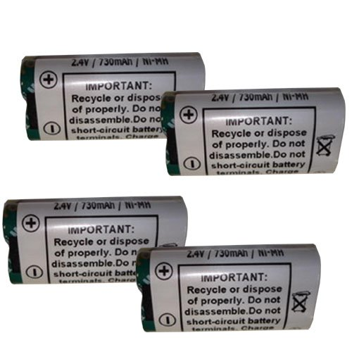 4 Batteries for Symbol BTRY-MC90SAB00-01 SPT1550 Barcode - H7y
