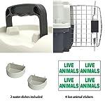 51iPNALVgwL. SS150  - SportPet Designs Plastic Kennels