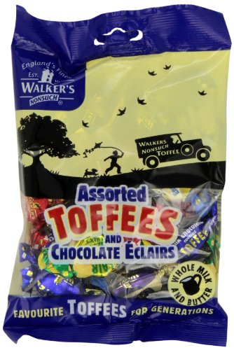 Assorted Royal Toffees (Walkers Assorted Royal Toffees, 5.29-Ounce Bags (Pack of 12))