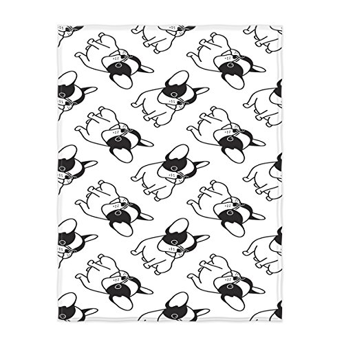 french bulldog fleece fabric - 6