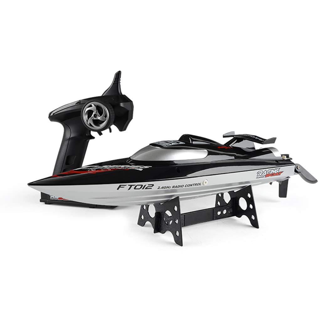Kofun RCボート, FT012ブラシレスRCレーシングボート2.4G 4CHリモートコントロールスピードボート45km / H自己直立アンチコリジョンRCおもちゃ 理想的なクリスマスの誕生日ピストルグリップコントローラ子供のためのギフト   B07LG2KD6J