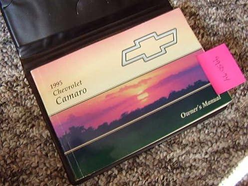 1995 chevrolet chevy camaro owners manual amazon com books rh amazon com 1995 chevy camaro owners manual 1999 Chevrolet Camaro
