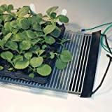 Ken-Bar Agritape Seed Starting 11'' x 10' Heat Mat with Grounding Screen and AT-JR Thermostat Controller