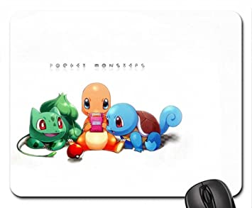 pokemon mouse pad mousepad 10 2 x 8 3 x 0 12 inches amazon ca