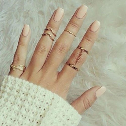 6pcs Knuckle Rings - 2