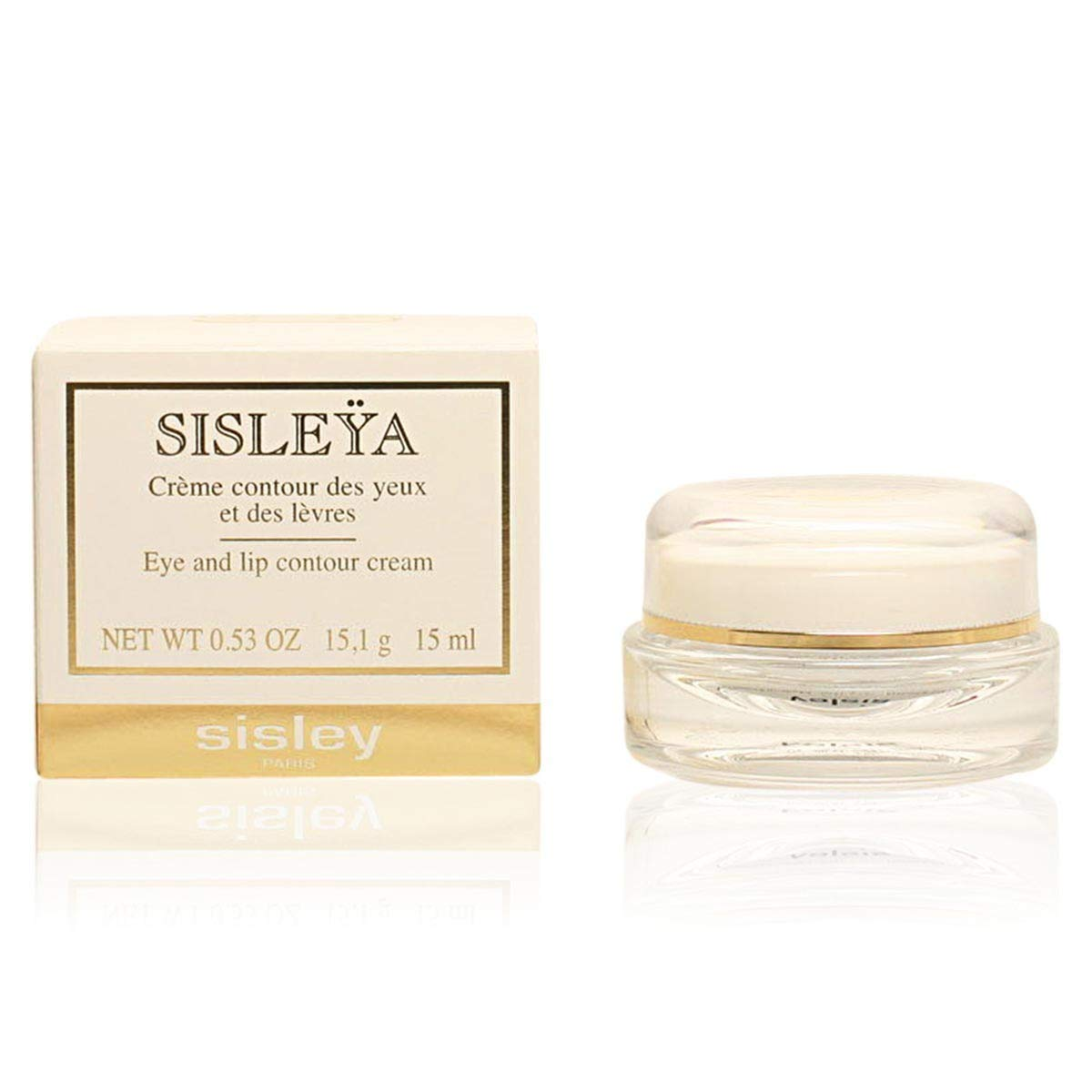 Sisleya Eye and Lip Contour Cream, 0.53-Ounce Jar