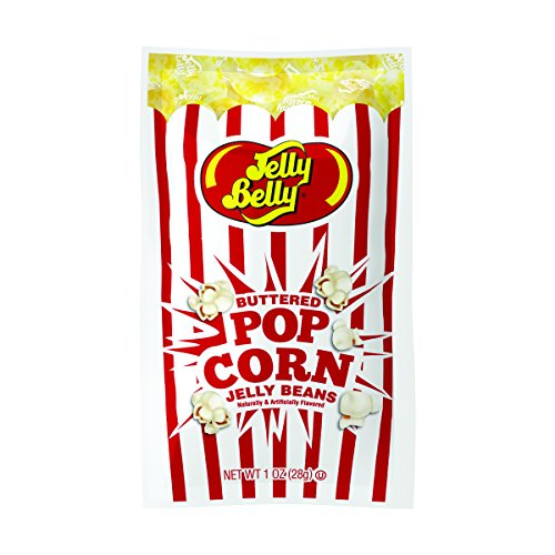 Jelly Belly Buttered Popcorn Jelly Beans, 1-oz, 30 Pack ()