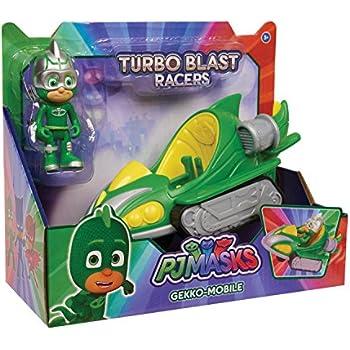 Just Play PJ Masks Turbo Blast Vehicles-Gekko
