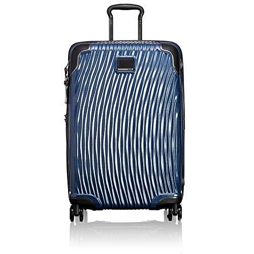 TUMI - Latitude Short Trip Hardside Packing Case Medium Suitcase - Rolling Luggage for Men and Women - Navy