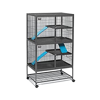 Image of Home and Kitchen Midwest Deluxe Ferret Nation Double Unit Ferret Cage