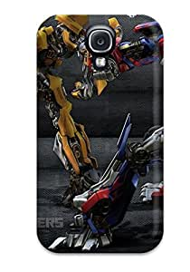(TbUxRUS5625DkCxt)durable Protection Case Cover For Galaxy S4(autobots Movie Robots People Movie)
