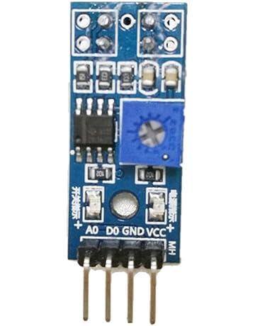 B Blesiya Interruptor Reflectivo IR Barrier Line Módulo De Sensor De Pista