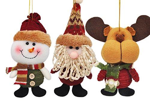 9 Pcs Christmas Tree Hanging Ornament Xmas Christmas Decorations - 3