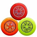 Discraft 175g Ultimate Disc Bundle (3 Discs) Red, Yellow & Orange