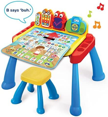 toys, games, kids' electronics,  electronic learning toys 1 image VTech Touch and Learn Activity Desk Deluxe in USA