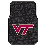The Northwest Company Officially Licensed NCAA Virginia Tech Hokies Two-Pack Front Car Floor Mat