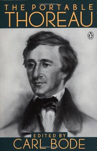 The Portable Thoreau (Portable Library)