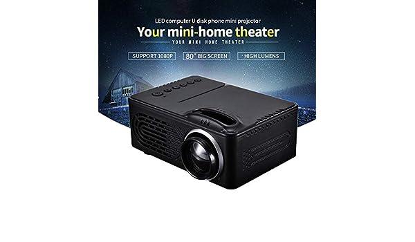 Juonjee Proyectores LED Miniatura proyector de 320 X 240 1080p ...