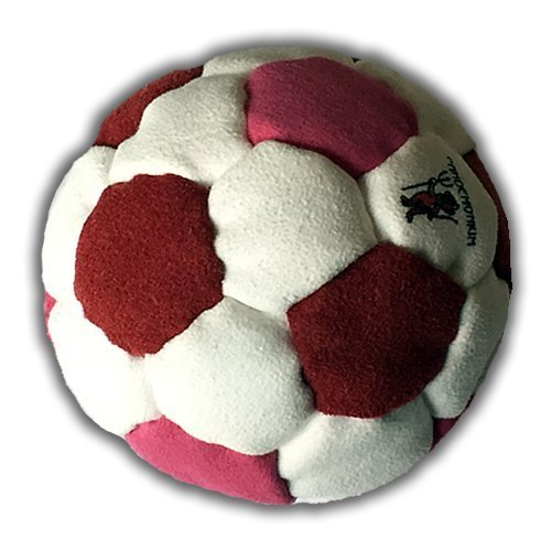 Pandemonium Footbag Nemesis Footbag 32 Panels Hacky Sack Pro Bag Pellets & Iron Weighted At 2.1 Onces