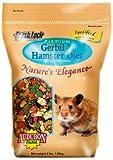 Audubon Park Nature's Elegance 1555 Gerbil and Hamster Diet Supreme Quality Pet Food, 3-Pound Bag