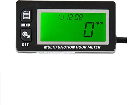 Lawn Mowers and other small engines Hour Meter For Generators USA FAST SHIP!!