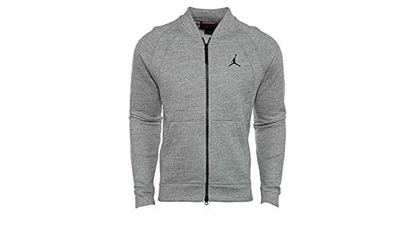daaea13200a418 Jordan Wings Fleece Bomber Jacket Mens Style  883987-063 Size  XXL   Amazon.ca  Shoes   Handbags