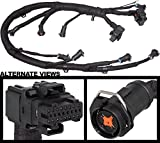 APDTY 133994 FICM Engine Fuel Injector Complete Wire & Pigtail Wiring Harness Fits 6.0L Diesel 2004-2005 Ford Excursion 2003-2007 F250 F350 F450 F550 (Replaces 5C3Z-9D930-A, 5C3Z9D930A, AP0031)