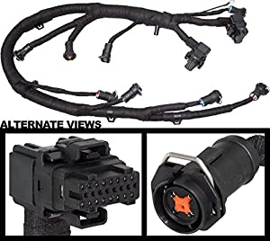 51iPWrNJH6L._SX300_ amazon com apdty 133994 ficm engine fuel injector complete wire 2005 F350 at gsmx.co