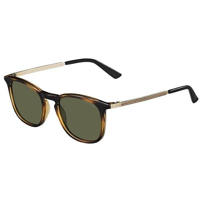 Gucci Gafas de Sol GG-1130/S-QWR (51 mm) Havana: Amazon.es ...