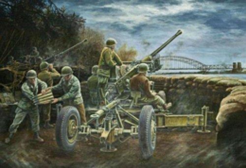 (AFV Club AFV35163 1:35 Bofors 40mm Automatic Gun M1 MODEL KIT)