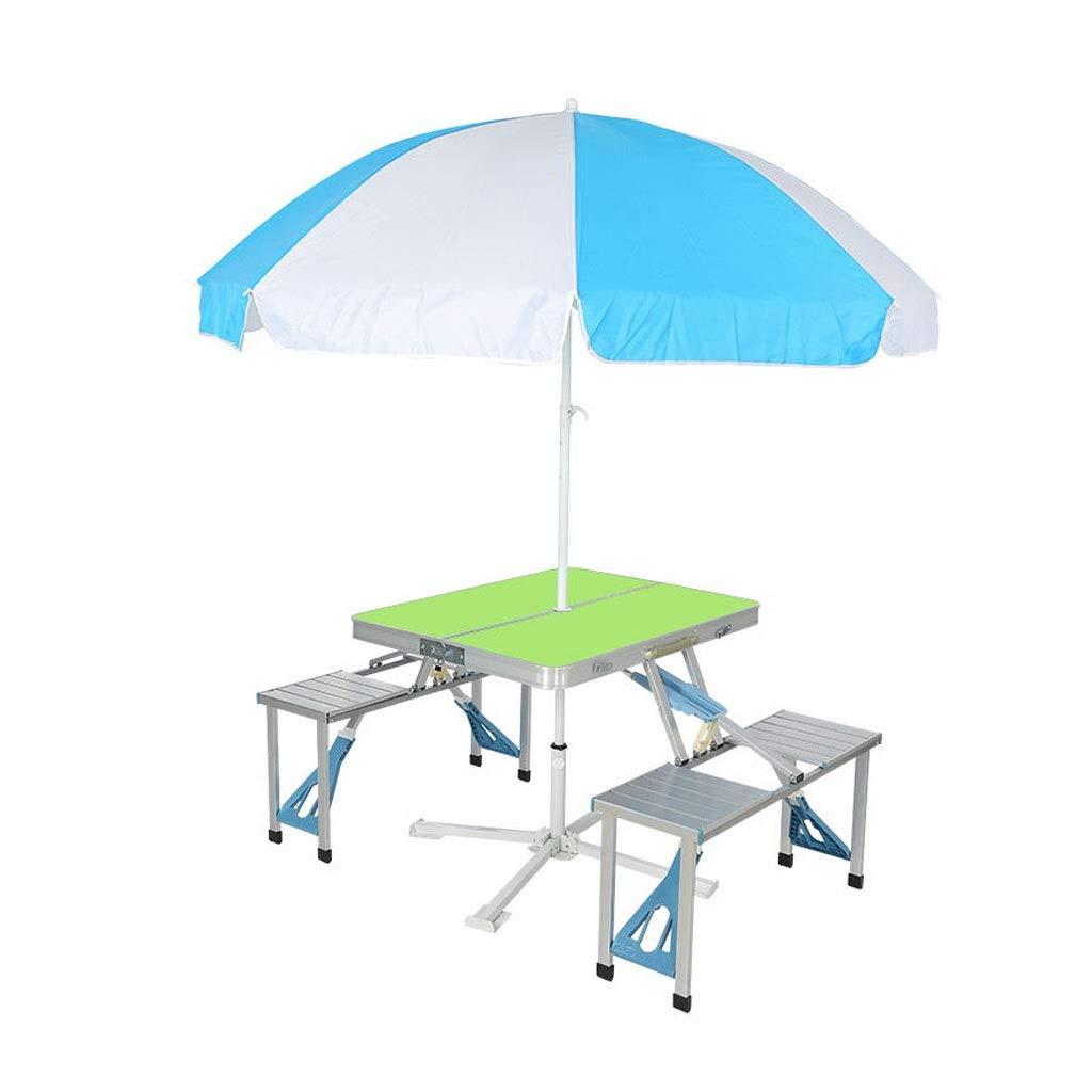 Mesa Plegable de Aluminio para Acampar al Aire Libre Juego de Mesa ...