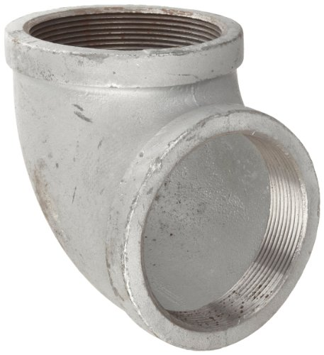 Anvil 8700124426, Malleable Iron Pipe Fitting, 90 Degree Elbow, 3
