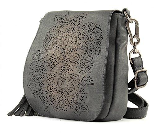 SURI FREY Judy Crossover Bag Grey
