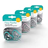 Nanobebe Pacifiers 3+ Month - Orthodontic, Curves