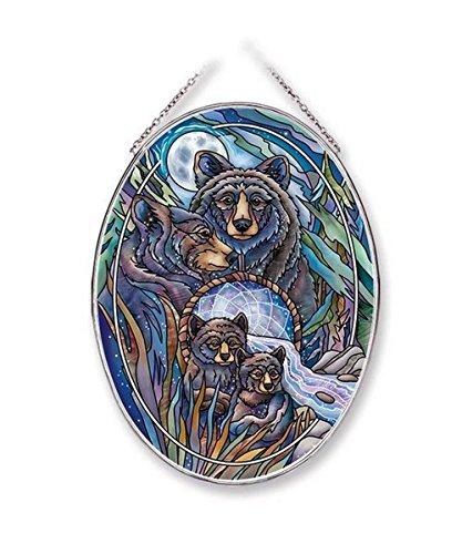 Amia 42649 Journey to Dreamtime, Bear Family Glass Suncatcher, 9