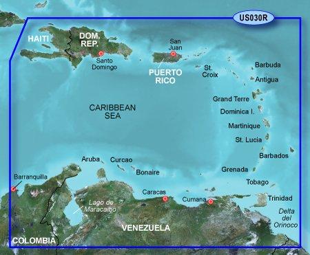Southeast Microsd (Garmin BlueChart g2 Southeast Caribbean Saltwater Map microSD Card)