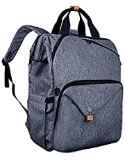 Hap Tim Laptop Backpack 15.6 14 13.3 Inch Laptop Bag Travel Backpack For Women Men Waterproof School Computer Bag Large Capacity Bookbag For College Travel Business 15.6 inches (P-7651SG-BG)