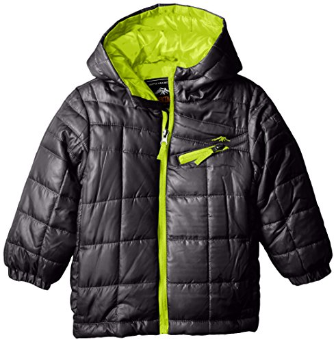 Pacific Lightweight Coat Quilted Trail Boys' Puffer Asphalt Big qfqOAwC