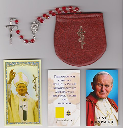 Rosary Papal Crucifix - 4