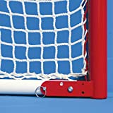 EZGoal Hockey Folding Pro Goal with Backstop and