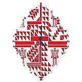 Deny Designs Vy La, Robots and Triangles, Baroque Clock, Medium