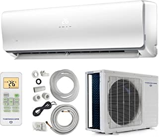 thermocore systems 19 seer energy star ductless mini split air     on heat  pump