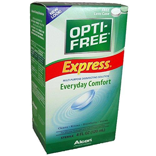 Opti-Free Soltn Express Size 4z Opti-Free Solution Express 4oz