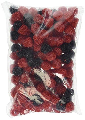 Haribo Red & Black Raspberries German Gummi , 1.5Lb