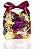 Manu Home Large Freesia Potpourri bag~ Fill the air in your space with our Fresh Freesia Flower Potpourri~ Legend has it, that the Freesia Flowers bring Magic into this world ~ Made in USA!