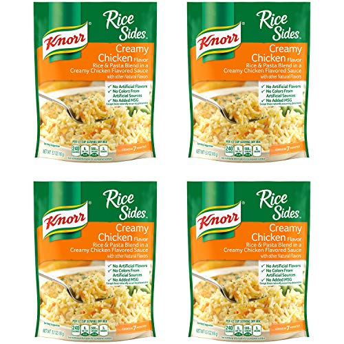 Knorr Rice Side Dish, Creamy Chicken, 5.7 oz (Pack of 4)
